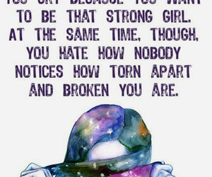 quotes, broken, and strong image