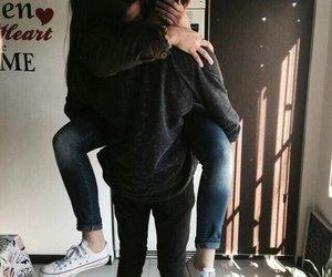 hug, cute, and love image