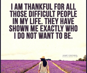 be yourself and be thankful image