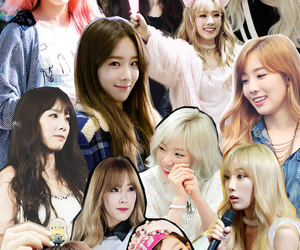 Collage, girls generation, and kim image