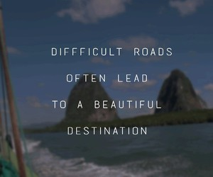destination, quote, and summer image