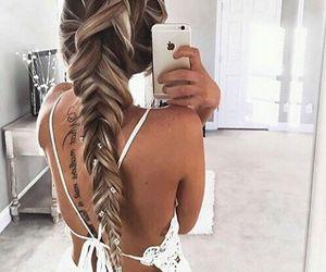 braid, fashion, and hair design image