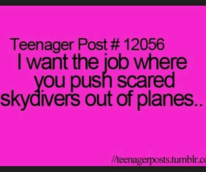 funny, job, and plane image