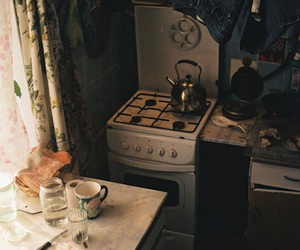 kitchen, vintage, and grunge image