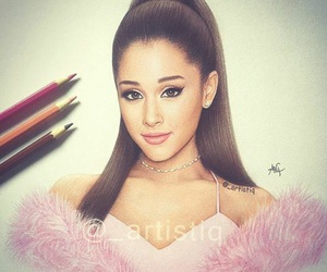 ariana grande and art image