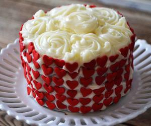 cake and red velvet image