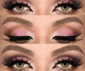 beauty, pink, and maquillage image
