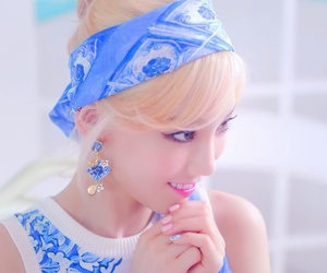 aesthetic, blue, and ulzzang image