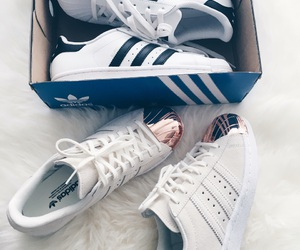adidas, fashion, and valentines day image