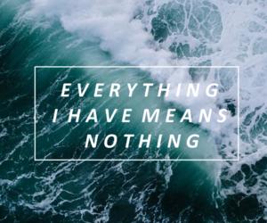 faith, Hillsong, and ocean image