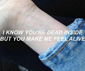 grunge, quotes, and alive image