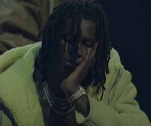 guys, kanye west, and young thug image