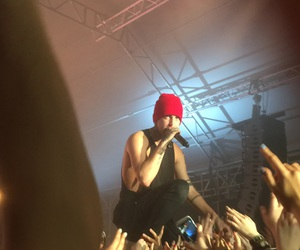 concert, twenty one pilots, and josh dun image
