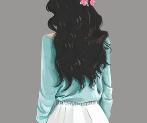 beautiful, hair, and art image