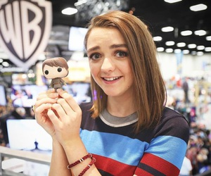 game of thrones, maisie williams, and got image