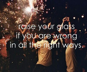 party, pink, and quotes image