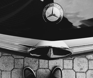 car, mercedes, and swag image