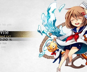 deemo, undertale, and frisk and monster kid image