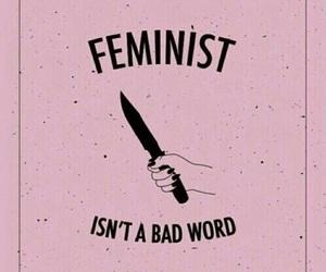 feminist, feminism, and pink image