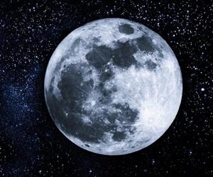 moon, night, and full moon image