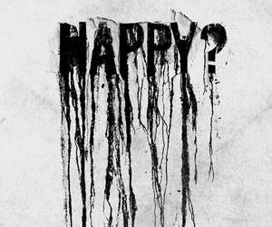 happy, sad, and black image