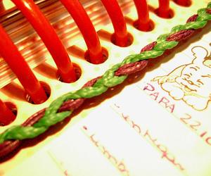 agenda, colorful, and colorido image