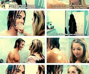 douche, hanna, and shower image