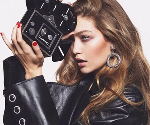 gigi hadid, model, and chanel image