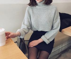 fashion, asian fashion, and jumper image