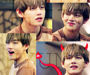 cutie, kpop, and v image