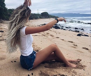 fashion, lifestyle, and hair image