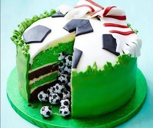 cake and football image