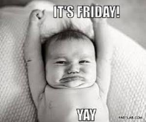 baby, friday, and funny image