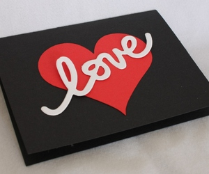 handmade cards, valentines day, and hearts image