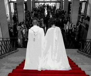 tradition, wedding, and barnous image