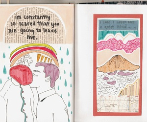 art, color, and diary image