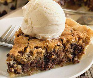 chocolate, pie, and dessert image
