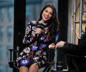 beautiful, interview, and laugh image