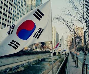 korea, seoul, and flag image