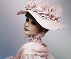 audrey hepburn, my fair lady, and colorization image