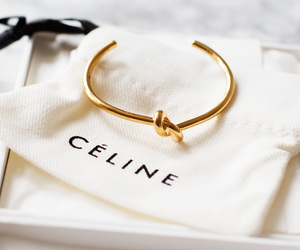 fashion, celine, and gold image