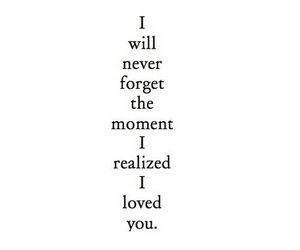 love, quotes, and moment image