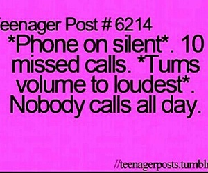 funny, phone, and teenager post image