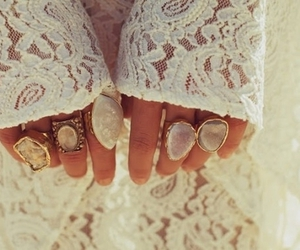 rings, fashion, and white image