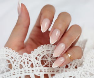 beautiful, beige, and nails image
