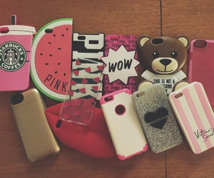 cases, girl, and iphone image