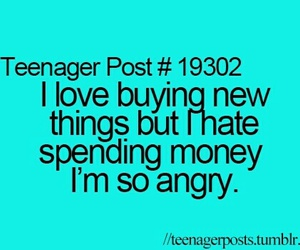 money, true, and teenager post image
