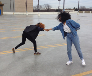 beautiful, funny, and black girls image