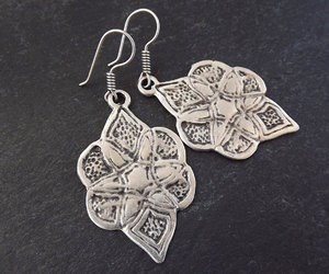 etsy, protection, and ethnic earrings image
