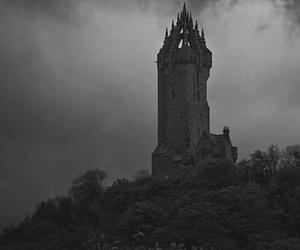 castle, dark, and tower image